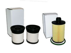 Oil Fuel Filter For 14 19 3 0l Turbo Diesel Replaces 68229402aa 04726067aa