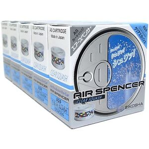 Air Spencer As Cartridge Clear Squash Automotive car Air Freshener Japan X5