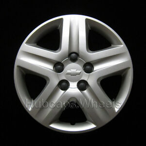Chevy Impala 2006 2011 Hubcap Genuine Gm Oem Wheel Cover Oem 3021 Silver Logo