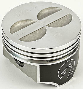 Trw Forged Flat Top Chevy 350 Sbc Pistons Std Bore 4 00 Set Of 8