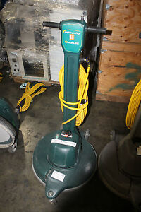 Nobles Integrity 18 Dust Control Burnisher Polishing Buffing Working