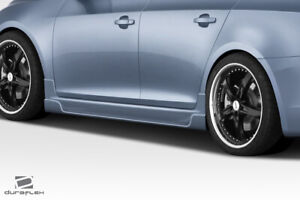 Duraflex Concept X Side Skirt Rocker Panels 2 Piece For Cruze Chevrolet 11