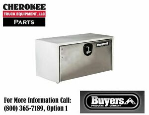 Buyers Products 1702810 Steel Underbody Toolbox 18 H X 18 D X 48 W