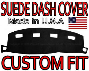 Fits 2002 2005 Dodge Ram 1500 2500 3500 Suede Dash Cover Dashboard Pad Black
