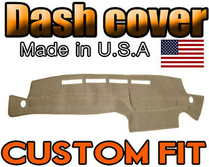 Fits 1996 2000 Nissan Pathfinder Dash Cover Mat Dashboard Pad Beige
