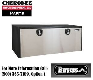 Buyers Products 1704715 Steel Underbody Toolbox 24 H X 24 D X 60 W