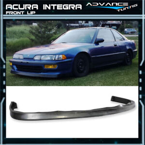 For 92 93 Acura Integra Jdp Style Pu Poly Urethane Front Bumper Lip Spoiler