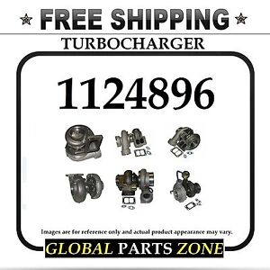 New Turbo For Caterpillar 3116 1124896 112 4896 Free Delivery