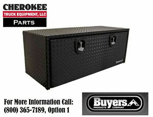 Buyers Products 1725140 Aluminum Underbody Toolbox 24 H X 24 D X 48 W