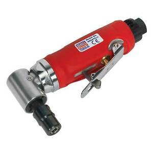 Sealey Air Die Grinder 90 Degrees Angle Contoured Composite Handle Gsa674