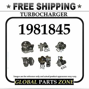 New Turbo Turbocharger For Caterpillar 3126 1981845 10r0364 Free Delivery