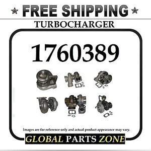 New Turbo Turbocharger For Caterpillar Cat 3306 1760389 176 0389 Free Delivery