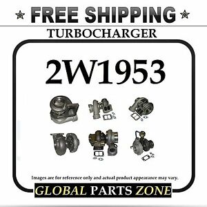 New Turbo Turbocharger For Caterpillar Cat 3304 3304b 2w1953 2w 1953 Ships Free