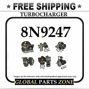 New Turbo Turbocharger For Caterpillar 3306 8n9247 8n 9247 0r5811 Free Delivery