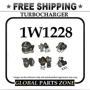 New Turbo Turbocharger For Caterpillar Cat 3306 1w1228 0r5802 F 302 Ships Free