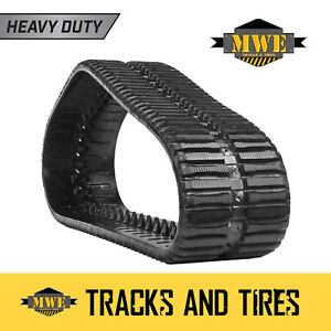 Pair Of 18 Mwe Ctl Rubber Tracks For Takeuchi Tl150 C Pattern