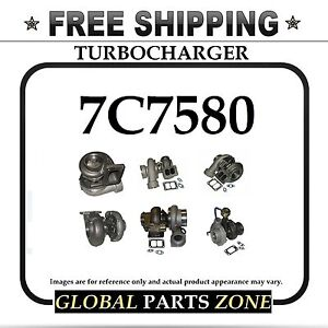 New Turbo For Caterpillar Cat 3306 7c7580 7c 7580 S4ds011 0r5949 Free Delivery