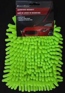 Microfiber Wash Mitt Auto Car Household Cleaning Wet Dry No Scratching 8 5 X 6