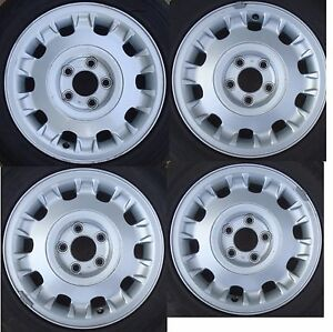 Set Of 4 Used 16 Inch Jaguar Xj8 Wheel Wheels Mnc6113ba