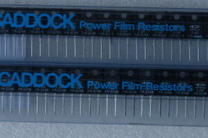 Caddock To 220 Mp930 2 00 1 2 Ohm Resistors lots Of 10