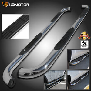 09 15 Dodge Ram 1500 Crew Cab Chrome S S Running Boards Side Step Nerf Bar