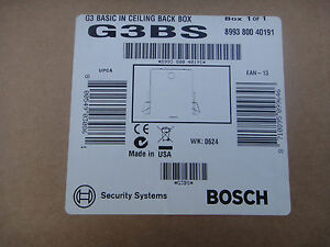 Bosch G3bs G3 Basic In Ceiling Back Box Suspended Ceiling Mount Modules
