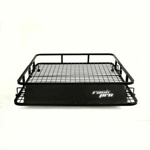Universal Roof Rack Basket Car Top Luggage Carrier Cargo Holder Travel 48 X 40