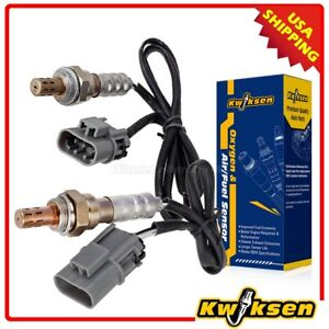 2pcs Oxygen O2 Sensor Upstream Left Right For 00 03 Nissan Xterra 3 3l
