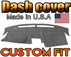 Fits 2002 2004 Nissan Altima Dash Cover Mat Dashboard Pad Charcoal Grey