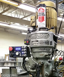 Servo Variable Frequency Drive Plus Vfd 5 Hp 230v 3ph Bridgeport Mill Milling