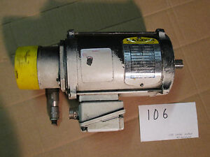 Lvd Press Brake Servo Motor Baldor Bsm4f2 17 4 16 With Resolver
