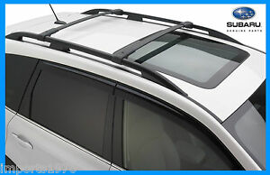 2014 2017 Subaru Forester Genuine Oem Areo Cross Bars Roof Rack E361ssg000