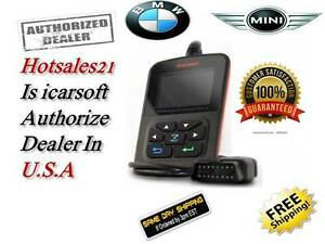 2018 Bmw Mini Diagnostic Scanner Tool Reader Code Check Engine Abs Srs Obd2 Scan