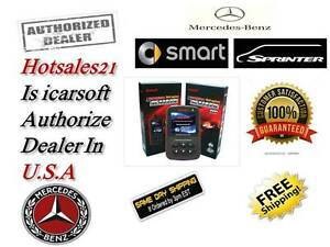 Mercedes Benz Diagnostic Scanner Tool Srs Abs Check Engine Obd2 Code Reader Scan