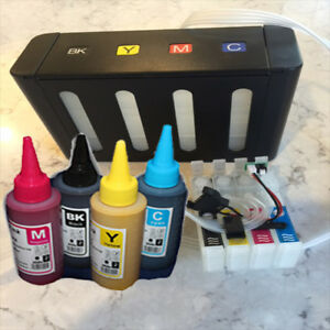 Ciss Sublimation Ink Kit Fits Epson Wf 2750 Sub Ink Included