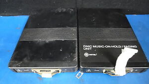 Lot Of 2 Mitel Music On Hold Paging Unit 9401 000 024 na