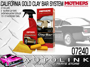 Mothers California Gold Clay Bar System Ideal For Tough Grime On Paintwork
