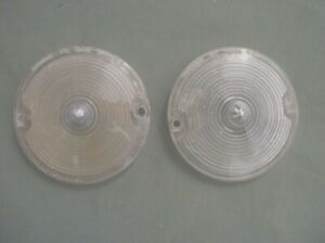 1967 Chevrolet Camaro Used Park Turn Light Lenses 14 Sae Dp67 Parts Read Ad