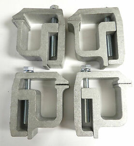 4 Tite Lok Truck Cap Topper Camper Shell Mounting Clamps Heavy Duty Tl 2002