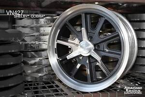 1 American Racing 427 Shelby Cobra Wheels 15x7 Ford Mustang Mopar Gm Chevy