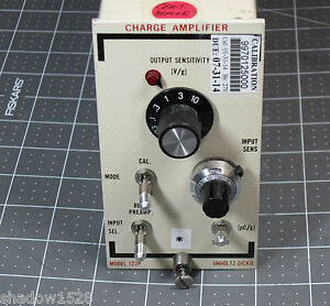 Unholtz dickie Charge Amplifier Model 122p