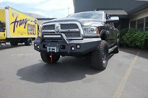 2010 2015 Dodge Winch Bumper With Cyclops Brushguard