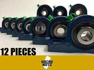 12 Pieces 3 4 Pillow Block Bearing Ucp204 12 Solid Base P204
