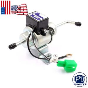 New 12v Universal Low Pressure Gas Diesel Electric Fuel Pump 1 4 Tubing 3 5 Psi