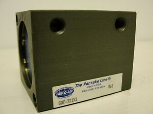 New In Package Fabco air Square Cylinder Sqf 321x1