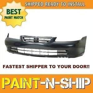 New 2001 2002 Honda Accord Sedan Front Bumper Painted To Match Ho1000196