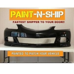 New 2005 2006 New Acura Rsx Coupe Front Bumper Painted To Match Ac1000154