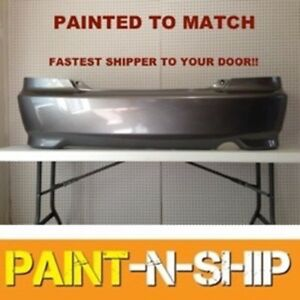 New 2004 2005 Honda Civic Coupe Rear Bumper Painted To Match Ho1100216