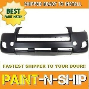 Fits 2009 2010 Toyota Rav4 Front Bumper no Flare Painted To Match to1000349