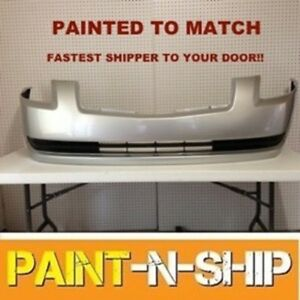Fits 2004 2005 2006 Nissan Maxima Front Bumper Painted To Match ni1000211